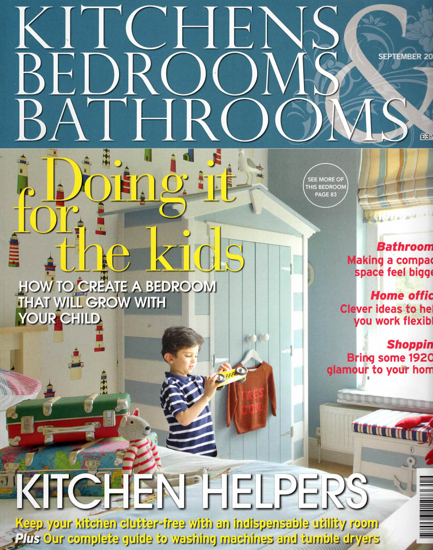 Kitchen bedroom bathroom magazine sept 14 cover kitmiles Beautiful bathrooms and bedrooms magazine