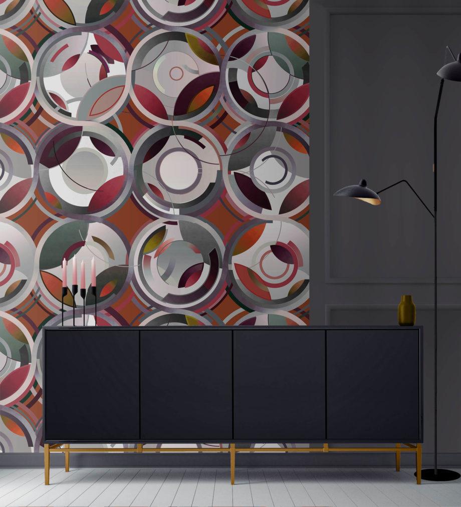 Cylinders Burgandy New visual