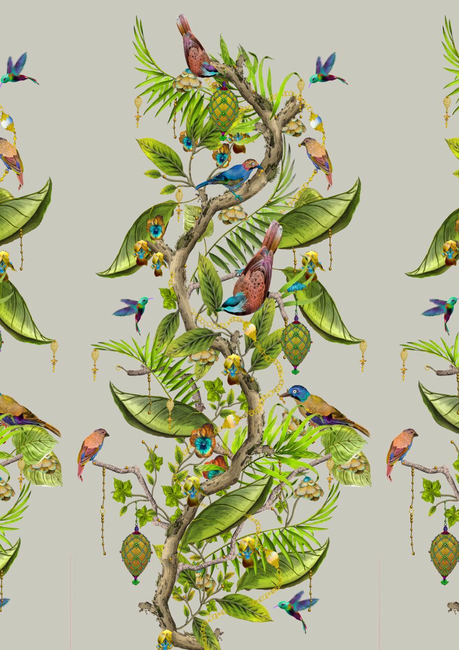 Ecclesiastical Botanica EB 104 repeat image