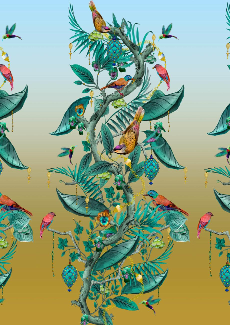 Ecclesiastical Botanica EB 105 repeat image